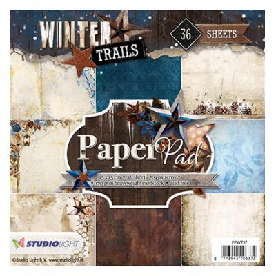 StudioLight PaperPad -  Winter Trails Nr. 97