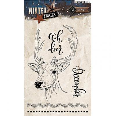 StudiioLight Clearstamps - Winter Trails Nr.302