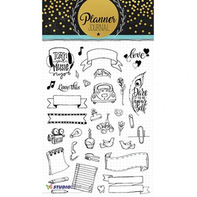 StudioLight Clear Stamps - Planner Journal Nr08