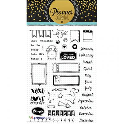 StudioLight Clear Stamps - Planner Journal Nr06