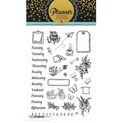 StudioLight Clear Stamps - Planner Journal Nr05