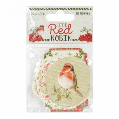 Dovecraft Little Red Robin - Little Red Robin Toppers