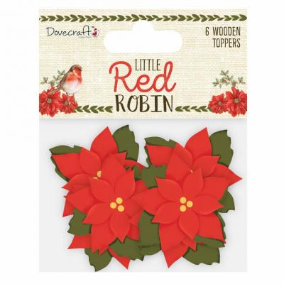 Dovecraft Little Red Robin - Weihnachtsterne