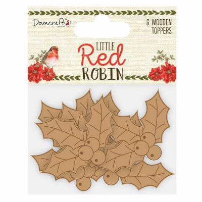 Dovecraft Little Red Robin - Stechpalme