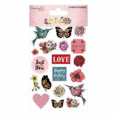 Dovecraft Folkland Puffy Sticker