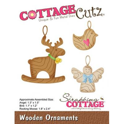 Cottage Cutz - Wooden Ornaments