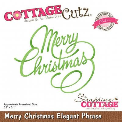 Cottage Cutz - Merry Christmas