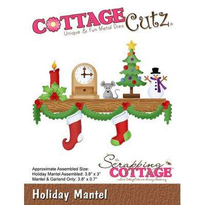 Cottage Cutz - Holiday Mantel