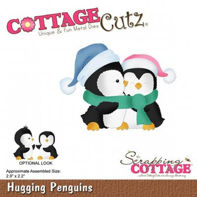 Cottage Cutz - Hugging Penguins
