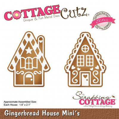Cottage Cutz - Gingerbread House Mini's