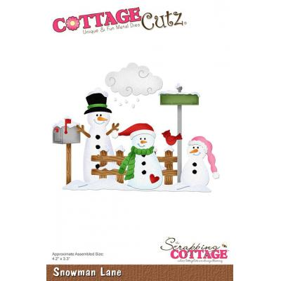 Cottage Cutz - Snowman Lane