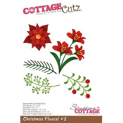 Cottage Cutz - Christmas Floral 2