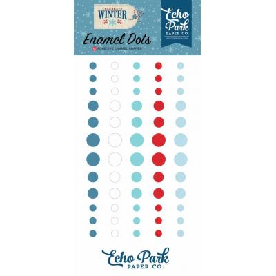 Echo Park - Celebrate Winter Enamel Dots