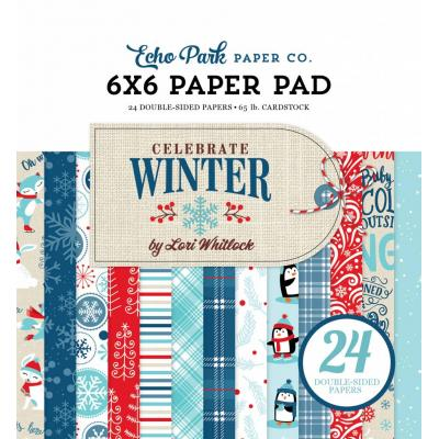 Echo Park - Celebrate Winter Paper Pad