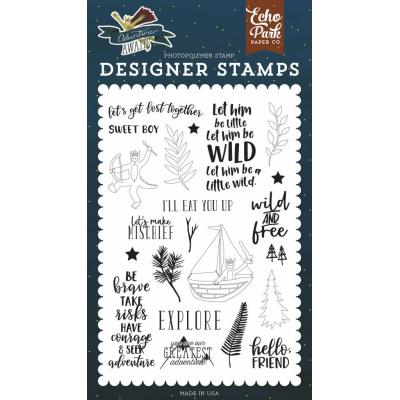 Echo Park Adventure Awaits - Get Lost Together Stempel
