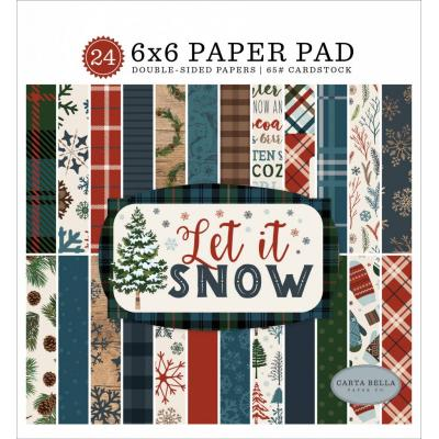 Carta Bella Let It Snow - Paper Pad
