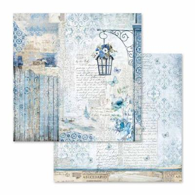 Stamperia Blue Land - Lamp