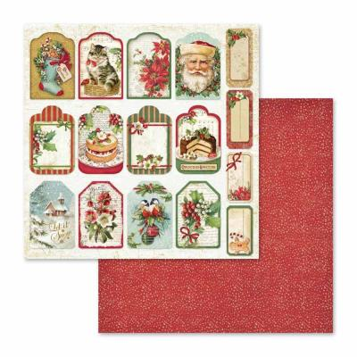 Stamperia Christmas Vintage - Tags & Labels