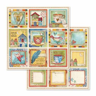 Stamperia Patchwork - Card