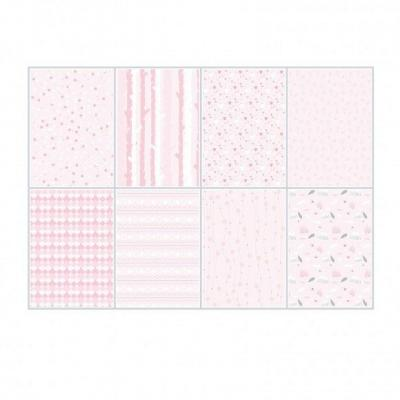 Joy!Crafts Papierset A4 - LWA Pink