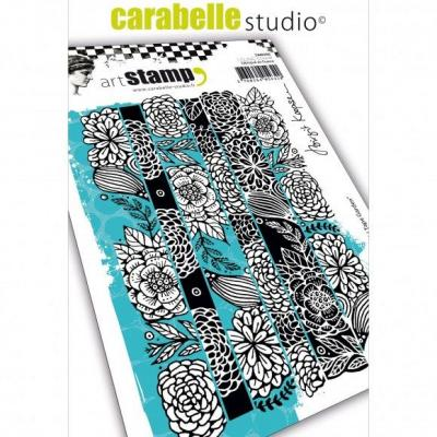 Carabelle Cling Stamp - Wash