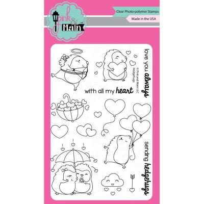 Pink & Main Clear Stamps Igel