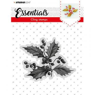 Studio Light Cling Stamp - Ilex