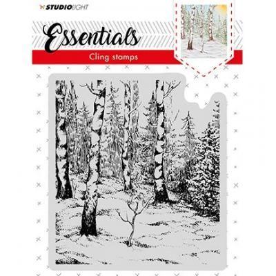 Studio Light Cling Stamp - Wald