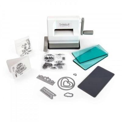 Sizzix Sidekick Starter Kit White & Gray