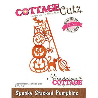 Cottage Cutz - Spooky Stacked Pumpkins