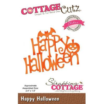 Cottage Cutz - Happy Halloween