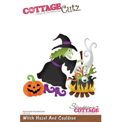Cottage Cutz - Witch Hazel And Cauldron