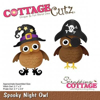 Cottage Cutz - Spooky Night Owl