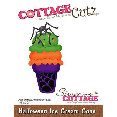 Cottage Cutz - Halloween Ice Cream Cone