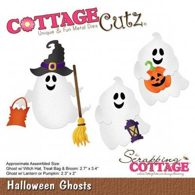 Cottage Cutz - Halloween Ghosts