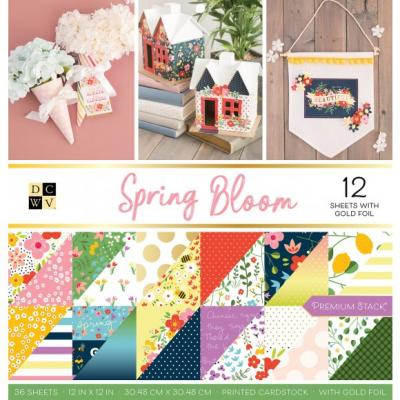 American Crafts DCWV Designpapier - Spring Bloom