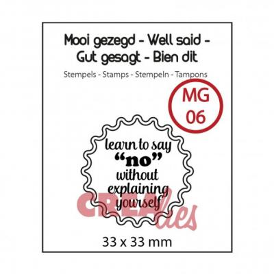 Crealies Clearstamp No Textstempel