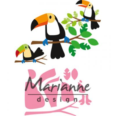 Marianne Design Collectables - Eline's Tucan