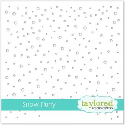 Taylored Expressions Schablone - Snow Flurry