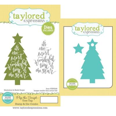 Taylored Expressions Rubber Stamps und Stanzschablonen - Tree Tag