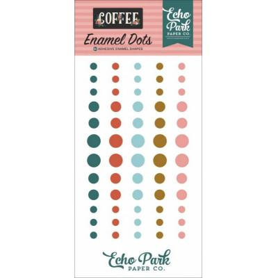 Echo Park Coffee - Enamel Dots