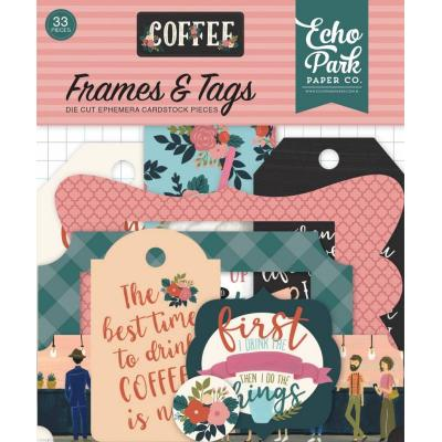 Echo Park Coffee - Frames & Tags