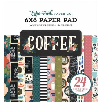 Echo Park Designpapier - Coffee