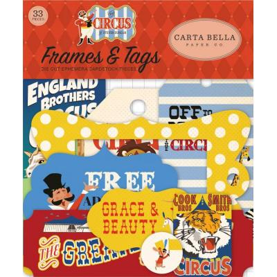 Carta Bella Circus - Frames & Tags