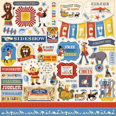 Carta Bella Circus - Element Stickers