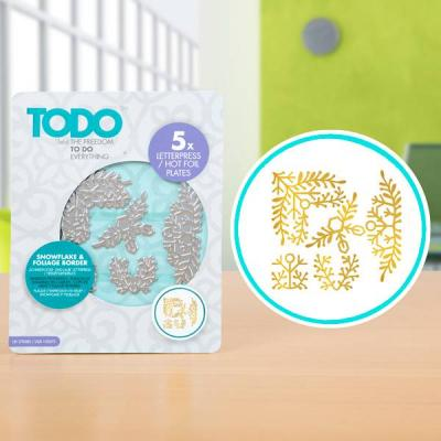 TODO Hotfoil Stamps - Zweige