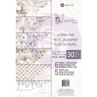 Prima Marketing Lavender Frost - A4 Paper Pad