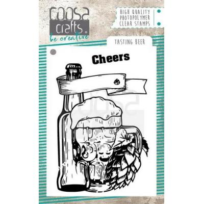 COOSA Crafts Clear Stamps - Tasting beer
