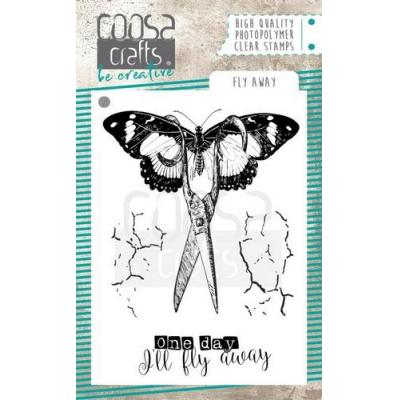 COOSA Crafts Clear Stamps - Fly away
