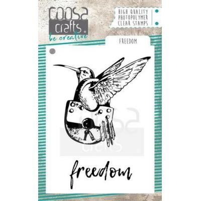 COOSA Crafts Clear Stamps - Freedom